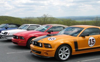 First PA Mustang Club Cruise 2018
